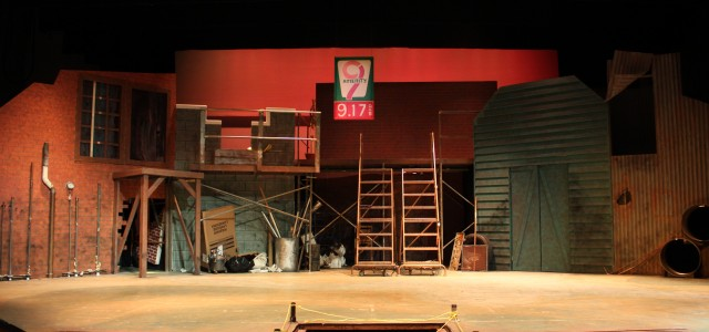 'Urinetown' set focuses on environmentalism