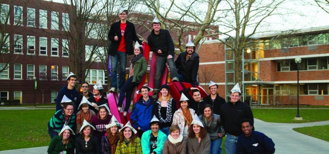 The fall 2012 Record staff says: Thanks for your readership!