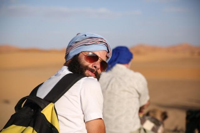 Austin Sprunger in Morocco