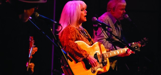 At 65, Emmylou Harris is ready to go