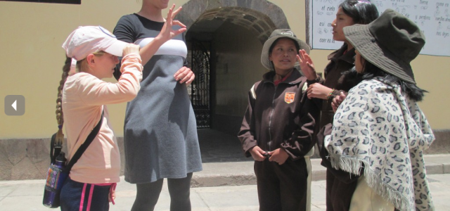 ASL students see signs of love in Peru SST