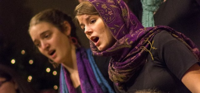 Women's World Choir sings at statewide gathering