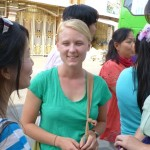 Audrey Thill in Cambodia