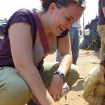 Sarah Lake-Rayburn in Cambodia