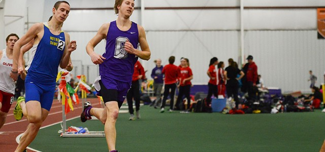 Track sweeps at home, looks to nationals