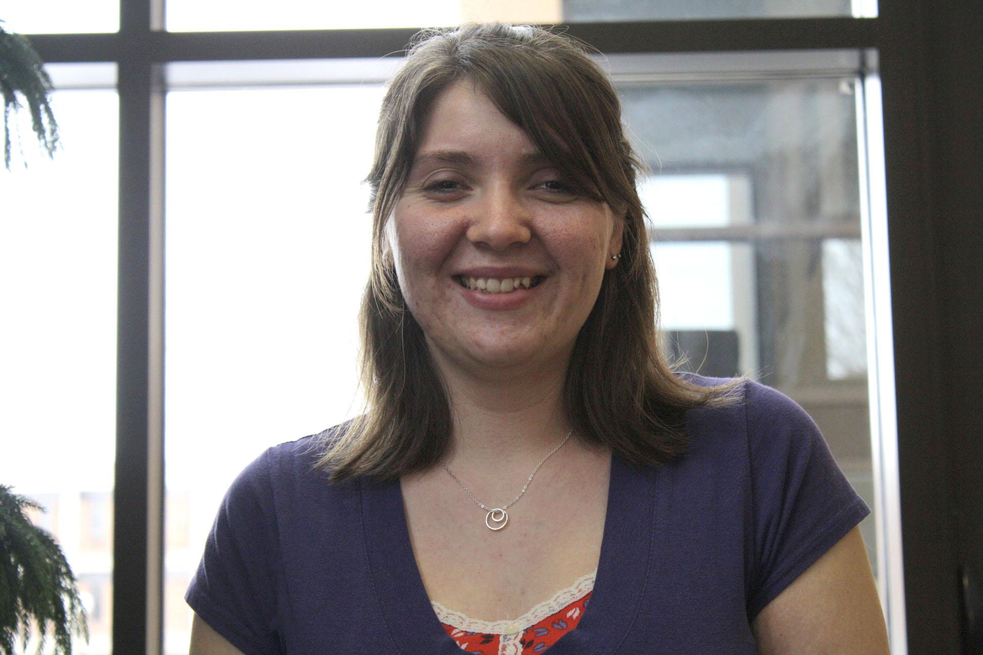Portrait of Kimberly Lindgren