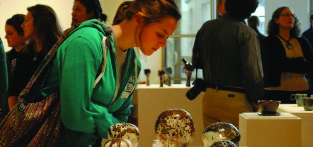 Students display art in senior exhibit