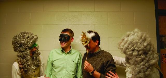 Students, faculty to don masks at masquerade