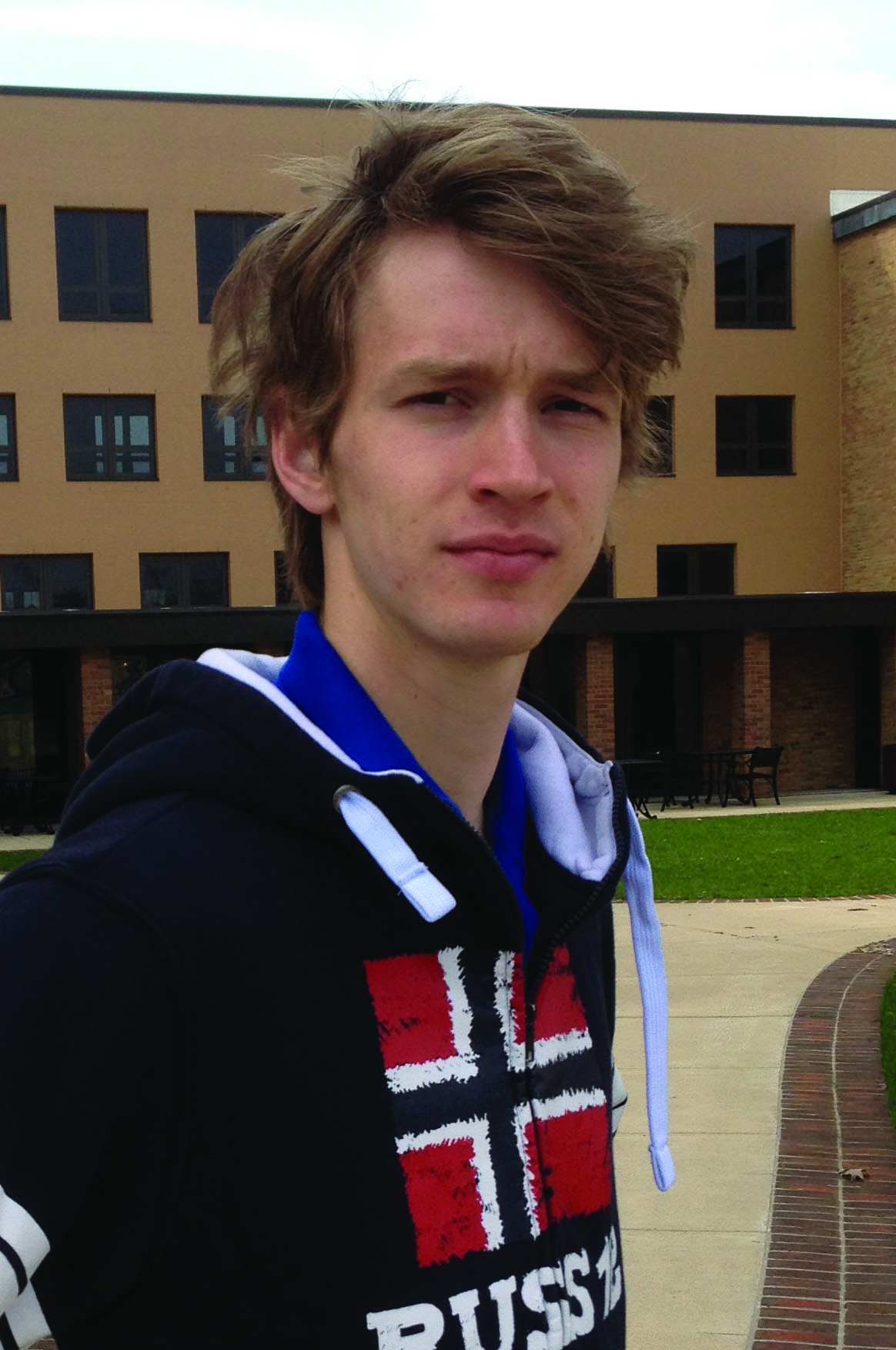 Portrait of Jon Kaasa on campus