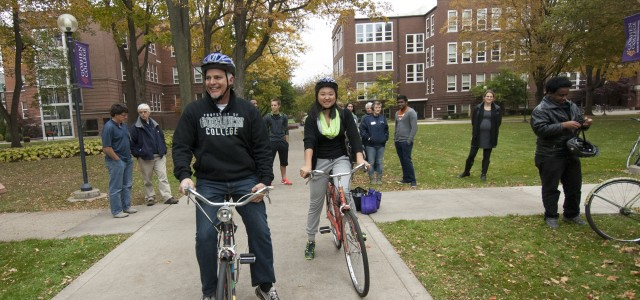 'Brenneman's bikes' project begins with new wheels