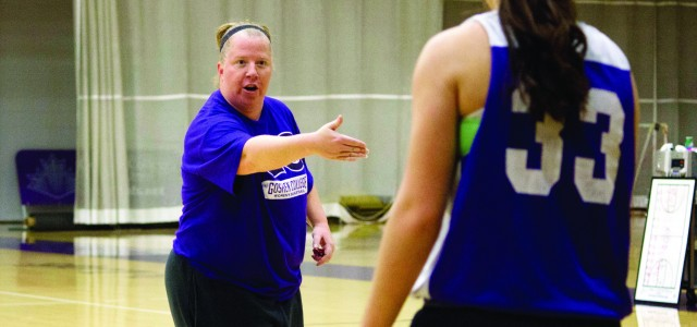 From the ground up: Miller builds on girls' basketball program