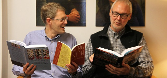 Professors share Anabaptist history through publication