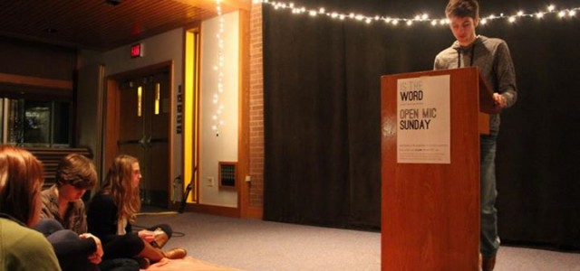 """Is the Word"" slams poetry in semester event"