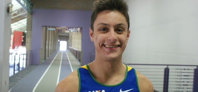 Campos jumps hurdles from Brazil to Goshen