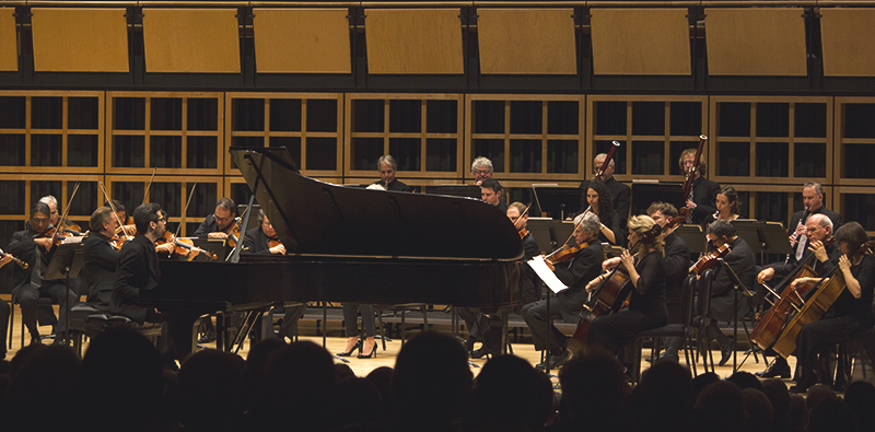 The Orpheus Orchestra in Sauder Hall