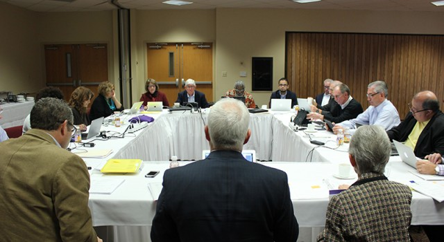 Board Invited Students For Discussion