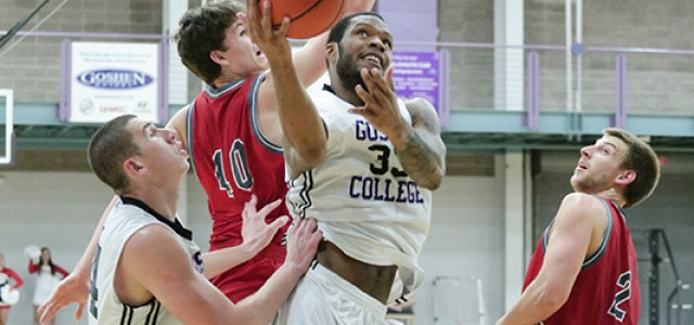 Men's Basketball Grabs Win
