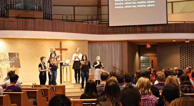 Convocation And Chapel Schedule Still In Need Of Adjustments