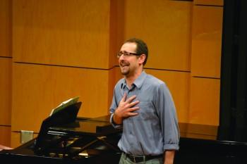Scott Hochstetler will give his faculty recital with Rebecca Dengler-Kaufman this Sunday