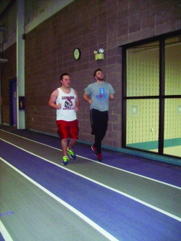 Two community runners train for upcoming half marathon