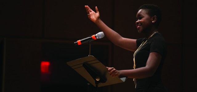 The power of poetry: Annie Agutu