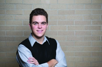 Paul Zehr is a junior, music and theater double major from Carthage, New York