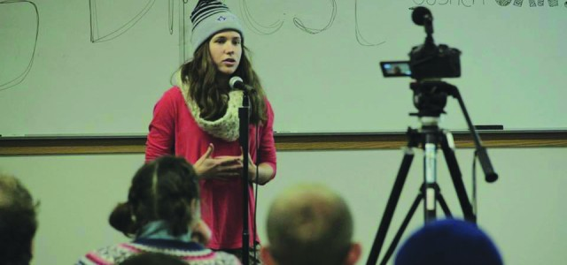 Students organize Divestment Day potluck
