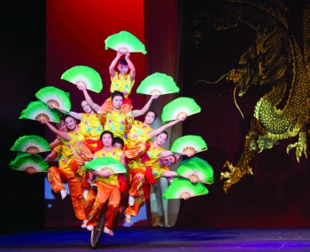 The Peking Acrobats will perform in Sauder Hall this Tuesday, February 10th.