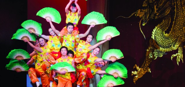 Peking Acrobats add diversity to Performing Arts Series