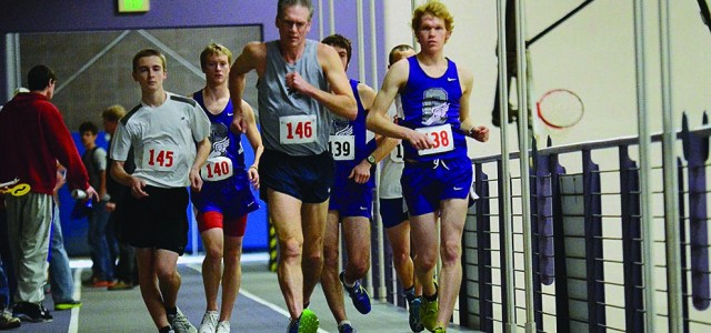 Race walkers compete with new members