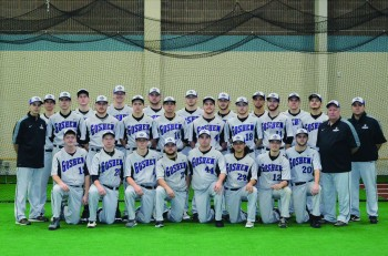 2014-2015 Baseball team