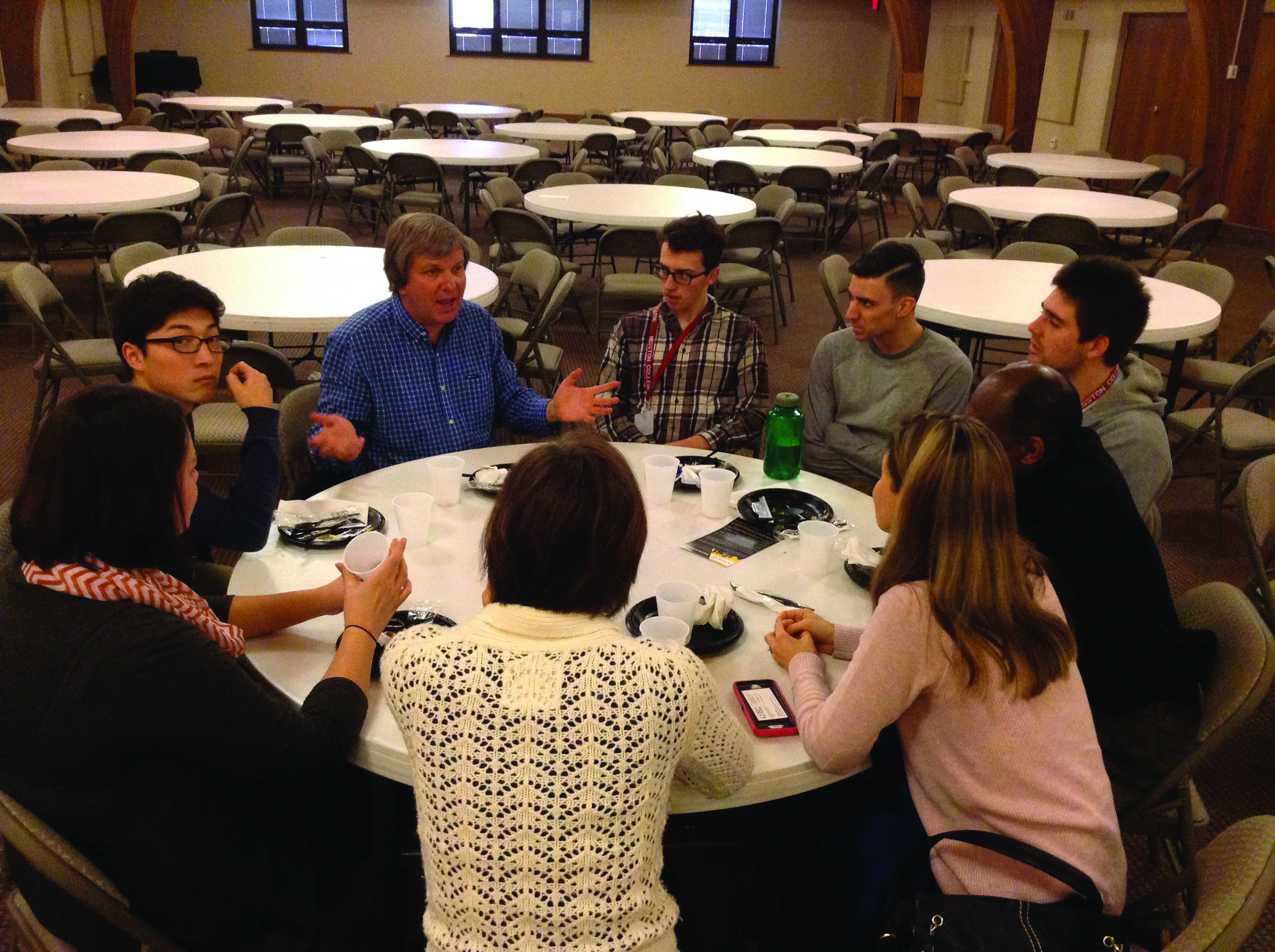 Students attend Intercollegiate Peace Fellowship Conference