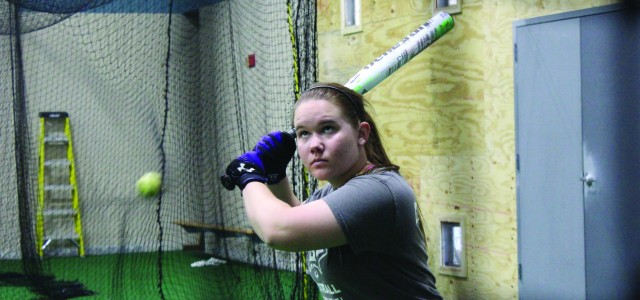 GC softball battles into extra innings