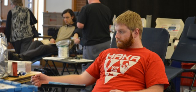 GC hosts blood drive
