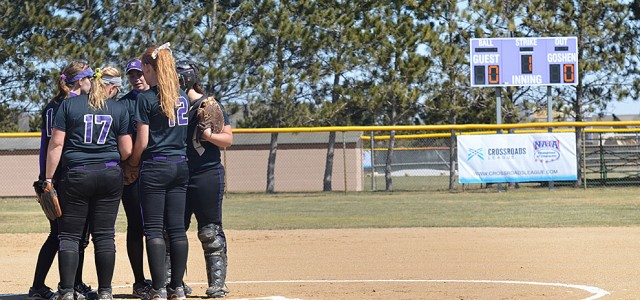 Softball strikes out against IWU and HU