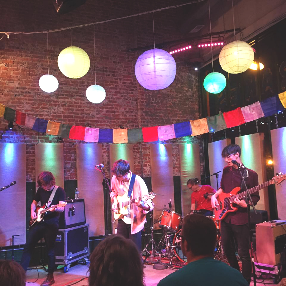 Minnesota-based band Hippo Campus performed at Ignition Garage on Thursday,  Photo contributed by Yuli Whiteman.