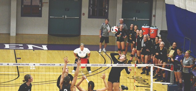 Women's volleyball beats Grace