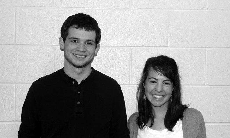 Brody Thomas and Nina Fox are both teaching at Bethany Christian Schools this year.