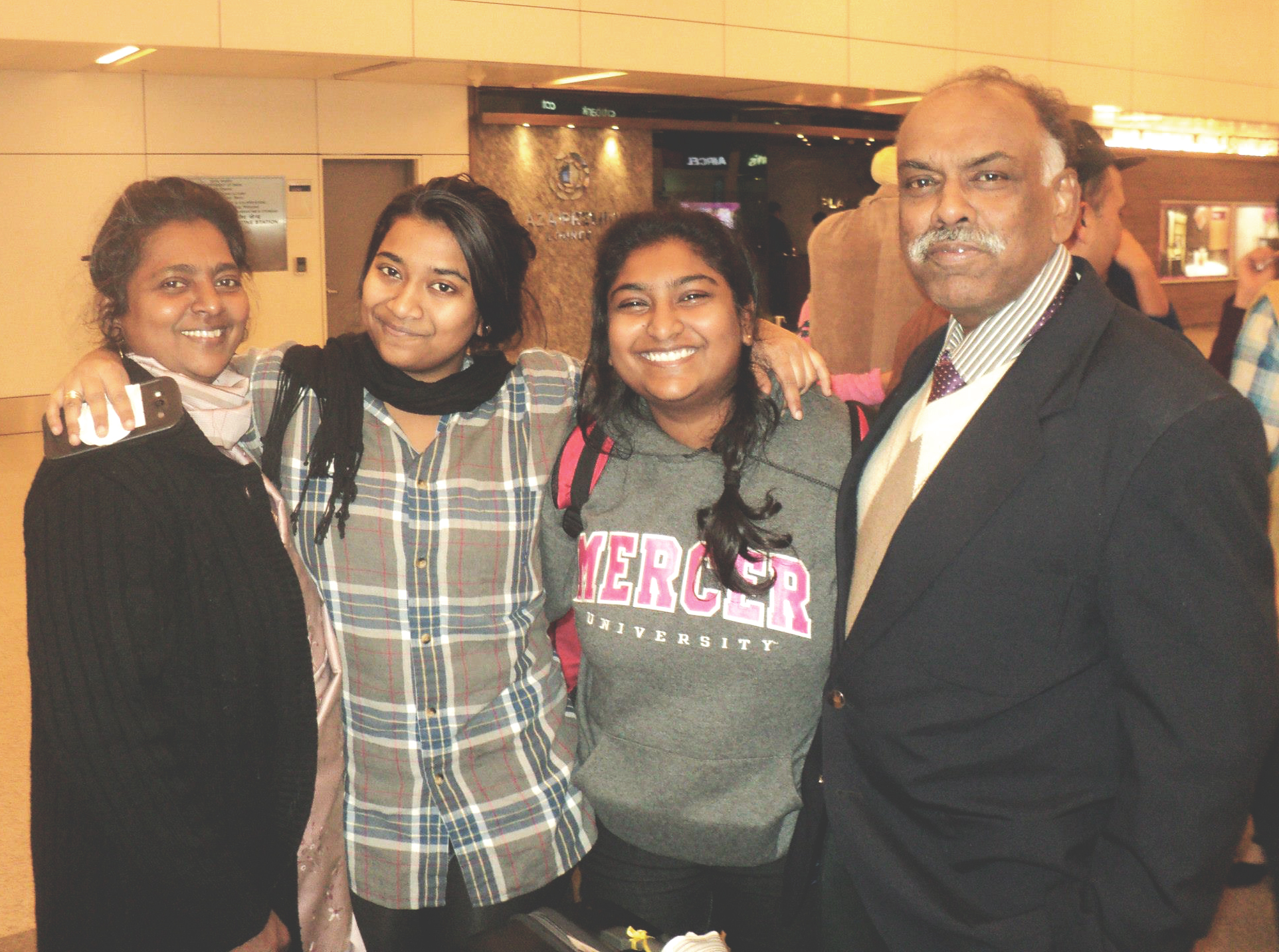 Prashansa Dickson, a senior from India, talks about her experience as an international student in the US. Photo contributed by Prashansa Dickson.