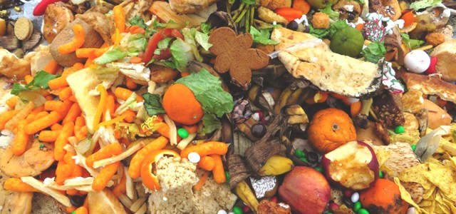 Chewing on food waste