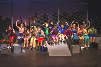 "The 2015 fall MainStage, ""Godspell,"" opened last weekend. Performances will continue this Saturday and Sunday afternoon. Photo by Hannah Sauder."