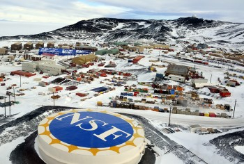 McMurdo Station, where Beachy is currently working, is managed by the National Science Foundation's U.S. Antarctic Program.  Photo by Peter Rejcek, for the National Science Foundation.