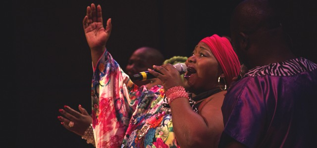 Soweto Gospel Choir entertains audience