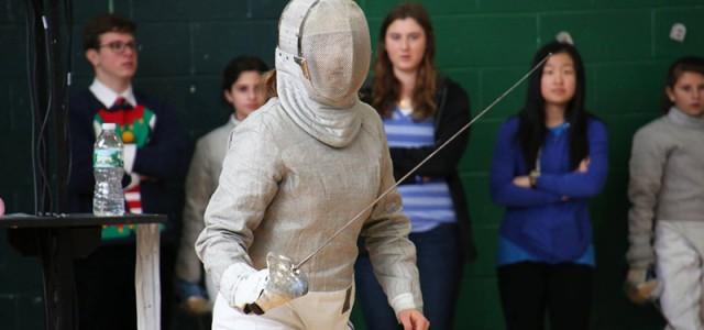 Junior Olympic fencer attends Goshen College