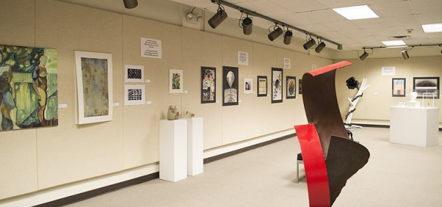 Student art gallery explores polarities