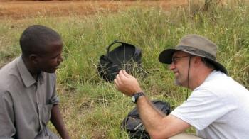 Ryan Sensenig during a recent trip to Kenya. Photo contributed by Ryan Sensenig