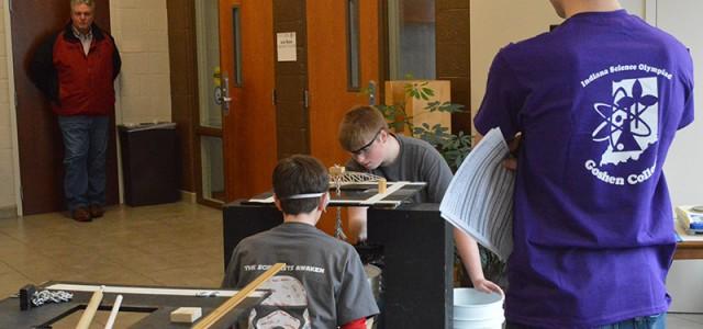 Goshen College hosts Science Olympiad