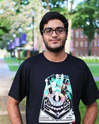 Portrait of Viren Wadhwa on campus