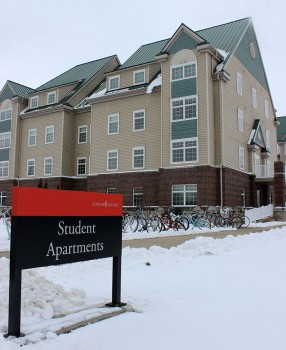 The apartments will see some changes coming for the following school year. Photo contributed by Courtney Wengerd