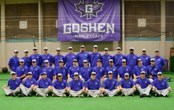 Goshen's baseball team spent spring break in Georgia, compiling a 3-6 record. Photo by Maria Bischoff